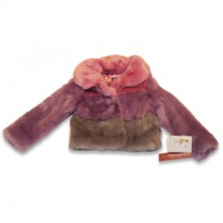 Kate Mack faux-fur Jacket