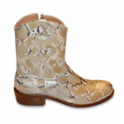 GALLUCCI SNAKESKIN BOOT