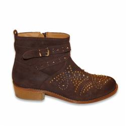 GALLUCCI SUEDE BOOT