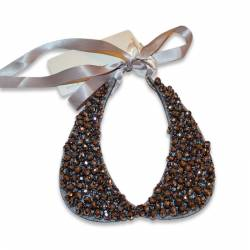 Black pearl necklace by Elsy
