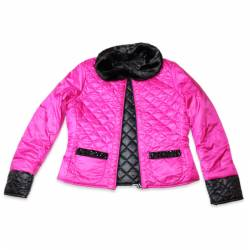 Reversible Jackets by LuckyLu. Green/fuchsia or black