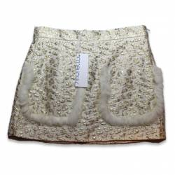 Short Golden Skirt by Simonetta