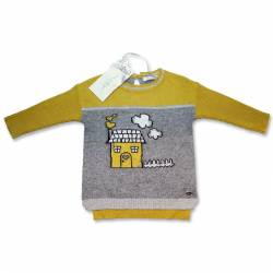 Yellow sweater by Byblos