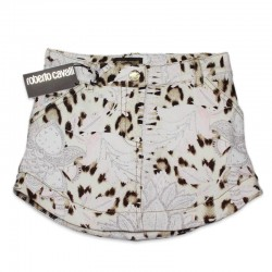 Leopard viscose Skirt by Roberto Cavalli